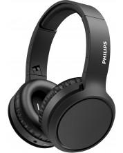 Casti wireless cu microfon hilips - TAH5205BK, negre