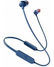Casti wireless JBL - Tune 115BT, albastre
