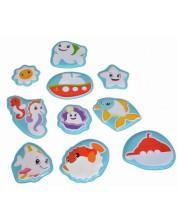 Puzzle magic pentru baie pentru bebelusi Simba Toys ABC - 10 piese -1