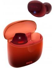Casti wireless TCL - SOCL500TWS, portocaliu/rosu