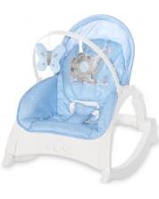 Sezlong pentru bebelusi Lorelli - Enjoy, Tender Blue Fun -1