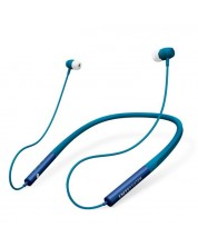 Casti wireless Energy Sistem - Earphones Neckband 3 Bluetooth, albastre