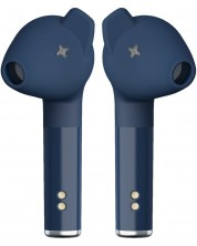 Casti wireless Defunc - TRUE PLUS, TWS,albastre