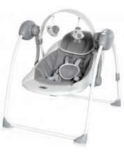 Leagan pentru bebelusi Lorelli - Portofino, Cool Grey Stars -1
