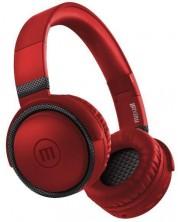 Casti wireless cu microfon Maxell - BTB52, rosu