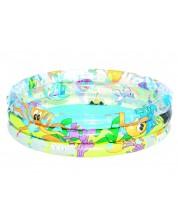 Piscina gonflabila cu 3 inele pentru copii Bestway - Ocean -1
