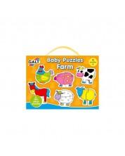 Puzzle pentru bebelusi Galt – Ferma -1