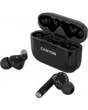 Casti wireless Canyon - TWS-3, negre