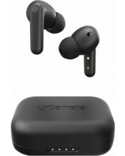 Casti wireless cu microfon Urbanista - London, TWS, negre