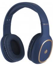Casti wireless cu microfon  NGS - Artica Pride, albastre