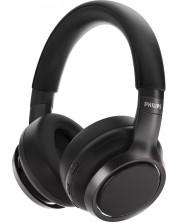 Casti wireless cu microfon Philips - TAH9505BK, negre