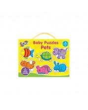 Puzzle pentru bebelusi Galt – Animale de companie -1