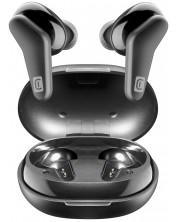 Casti wireless cu microfon Cellularline - Hark, True Wireless, negre