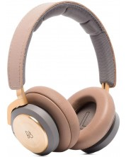Casti wireless Bang & Olufsen - Beoplay H9, ANC, bej