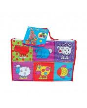 Jucarie pentru bebelusi Galt - Mini cuburi, animale -1