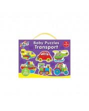 Puzzle pentru bebelusi Galt – Vehicule -1