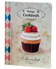 Carnetel de retete Lastva В5 - Vintage Cookbook + tocator -1