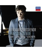 Benjamin Grosvenor - Rhapsody In Blue: Saint-Säens, Ravel, Gershwin (CD)
