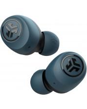 Casti wireless cu microfon JLab - GO Air, TWS, albastre/negre