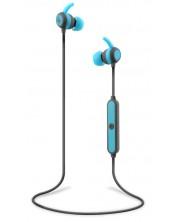 Casti wireless cu microfon TNB - Be color, albastre
