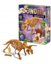 Set de joaca cu dinozaur Buki Dinosaurs - Triceratops -1