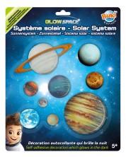 Planete luminoase in intuneric Buki Space - Sistemul solar -1