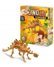 Set de joaca cu dinozaur Buki Dinosaurs - Stegosaurus  -1