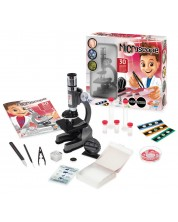 Microscop cu accesorii Buki Sciences - 30 de experimente -1
