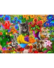 Puzzle Bluebird de 100 piese - Kitten Fun, Gerald Newton