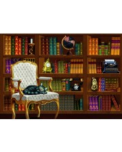 Puzzle Bluebird de 1000 piese - The Vintage Library, Matthew Martin