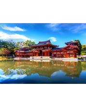 Puzzle Bluebird de 1000 piese - Byodo-In Temple, Kyoto, Japonia