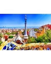Puzzle Bluebird de 1000 piese - Park Güell, Barcelona