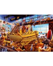 Puzzle Bluebird de 1000 piese -Boat Yard