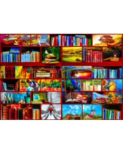 Puzzle Bluebird de 1000 piese - The Library The Travel Section