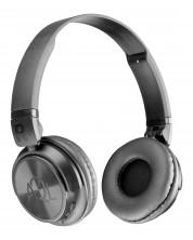 Casti stereo cu microfon Helios Bluetooth, AQL - negre