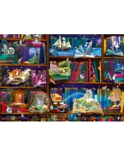 Puzzle Bluebird de 1000 piese - Library Adventures in Reading, Alixandra Mullins
