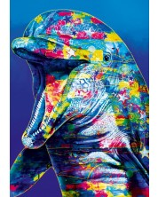 Puzzle Bluebird de 1000 piese - Dolphin, Graham Stevenson