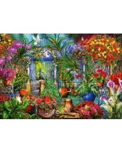 Puzzle Bluebird de 1000 piese - Tropical Green House, Ciro Marchetti