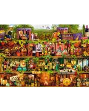 Puzzle Bluebird de 1000 piese - Wine Shelf, Aimee Stewart
