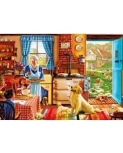 Puzzle Bluebird de 1000 piese - Cottage Interior, Steve Crisp