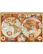 Puzzle Bluebird de 1000 piese - Vintage Map,  Aimee Stewart