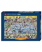 Puzzle Heye de 1000 piese - Linisteste-te!, Roge Blachon