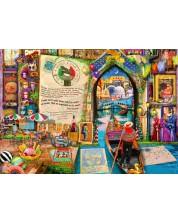 Puzzle Bluebird de 1000 piese - Life is an Open Book Venice, Aimee Stewart
