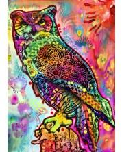Puzzle Bluebird de 1000 piese - Owl, Dean Russo