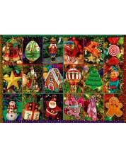 Puzzle Bluebird de 1000 piese - Festive Ornaments, Alison Lee