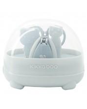 Set ingrijire unghii bebe - forfecuta si unghiera Kikka Boo Bear - Albastru -1
