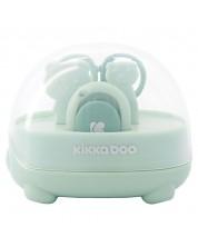 Set ingrijire unghii bebe - forfecuta si unghiera Kikka Boo Bear - menta -1