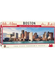 Puzzle panoramic Master Pieces de 1000 piese - Boston, Massachusetts