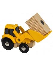 Jucarie din lemn Brio World - Tractor -1