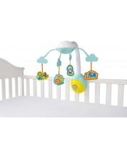 Carusel muzical pentru bebelusi Bright Starts - Safari 2-in-1 -1
